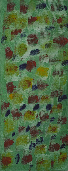 Bunt 115 - 20x50 Acryl auf Leinwand