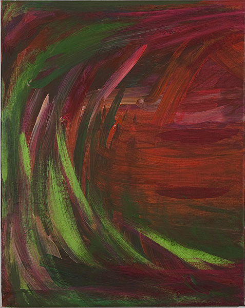 Bunt 117 - 40x50 Acryl auf Leinwand