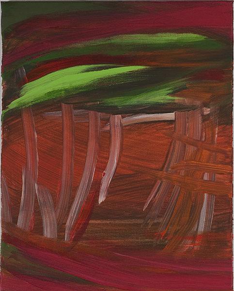 Bunt 118 - 40x50 Acryl auf Leinwand