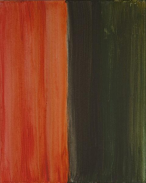 Bunt 120 - 40x50 Acryl auf Leinwand