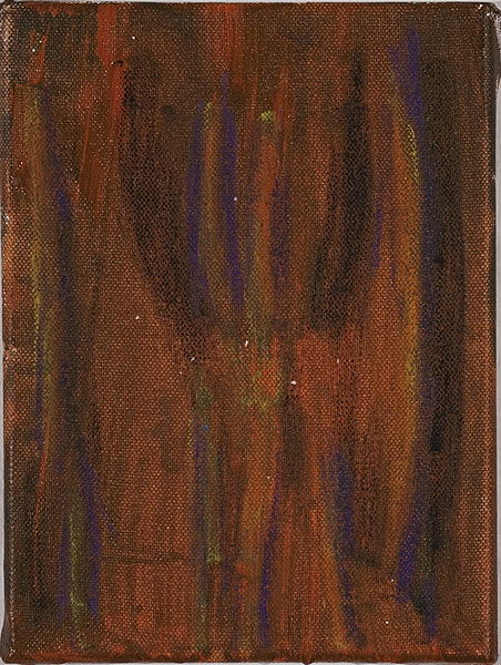 Bunt 124 - 17,5x24 Acryl auf Leinwand