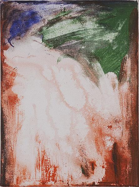 Bunt 125 - 17,5x24 Acryl auf Leinwand