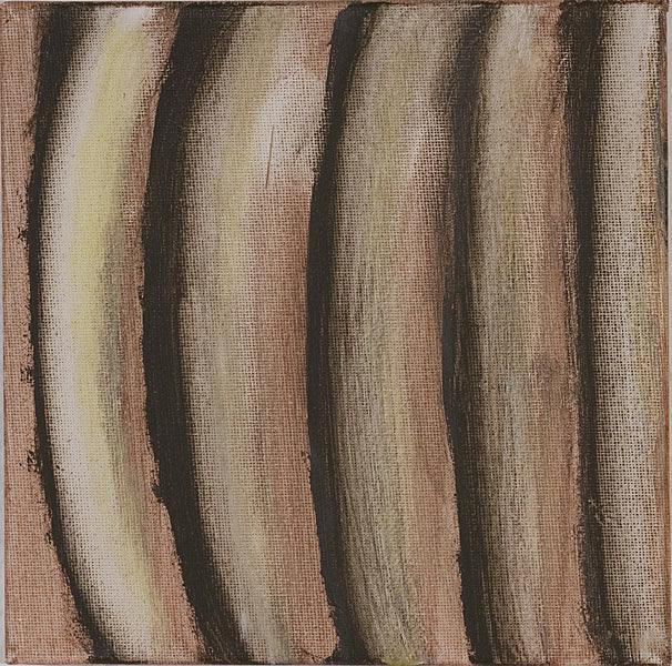 Bunt 129 - 20x20 Acryl auf Leinwand