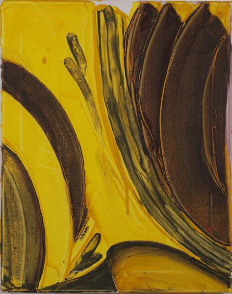 Gelb 138 - 40x50 Acryl auf Leinwand