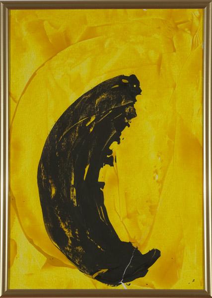 Gelb 140 - 22x30 Acryl auf Papier
