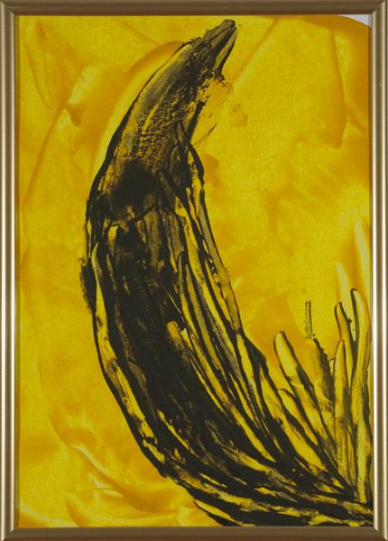 Gelb 141 - 22x30 Acryl auf Papier