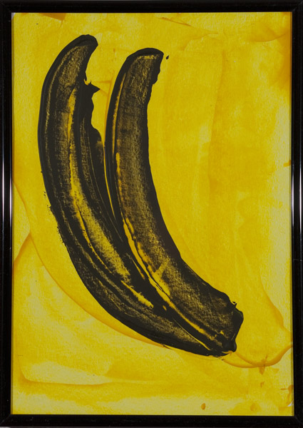 Gelb 145 - 22x30 Acryl auf Papier