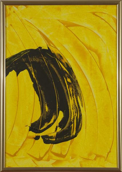 Gelb 148 - 22x30 Acryl auf Papier