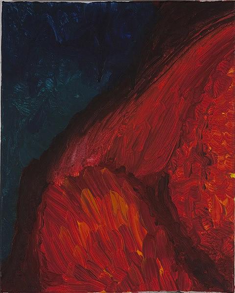 Rot 096 - 40x50 Acryl auf Leinwand