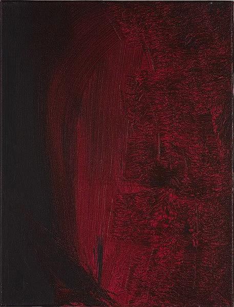 Rot 104 - 30x40 Acryl auf Leinwand